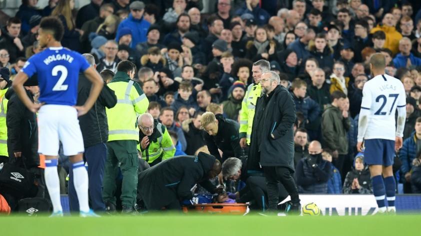 """""""Esperamos una recuperación completa"""": el comunicado de Everton tras la terrible lesión de André Gomes (IMÁGENES FUERTES)"""