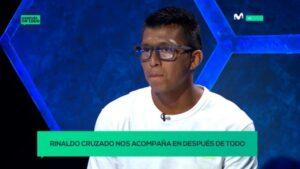 ¿Jugaría por Universitario de Deportes? Así respondió Rinaldo Cruzado en exclusiva para Movistar Deportes