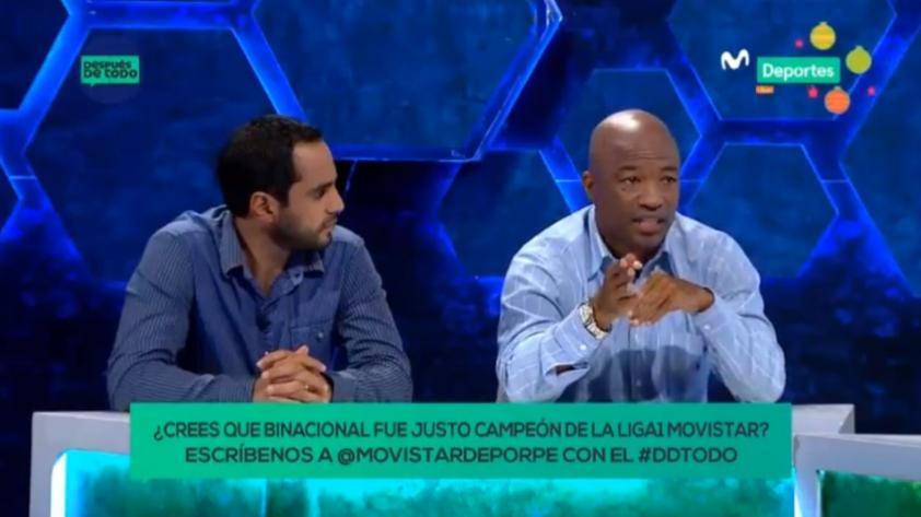 """Después de Todo: """"le quedó muy grande el partido a Kevin Quevedo"""" , dijo Waldir Sáenz (VIDEO)"""