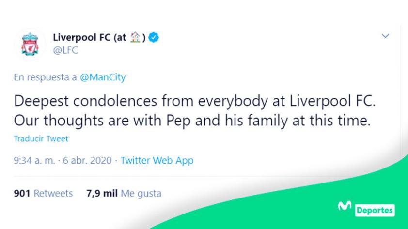 Pep Guardiola: los mensajes de apoyo al entrenador español por el fallecimiento de su madre (FOTOS)