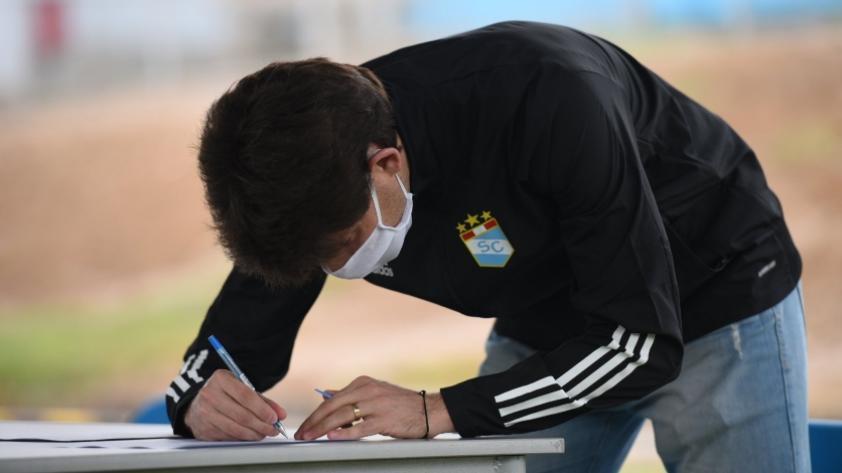 Jugadores de Sporting Cristal pasaron pruebas moleculares (FOTOS)