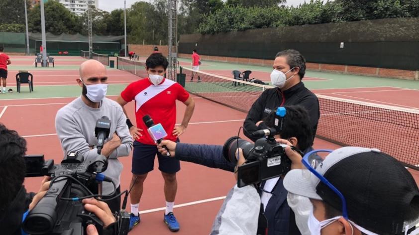 ¡Vuelve el tenis! El equipo peruano de Copa Davis regresó a los entrenamientos (FOTOS)