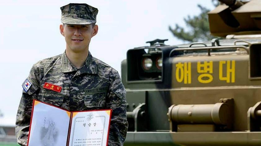 """Heung-min Son habla sobre sus días en el ejército surcoreano: """"Fue una buena experiencia"""" (FOTOS)"""