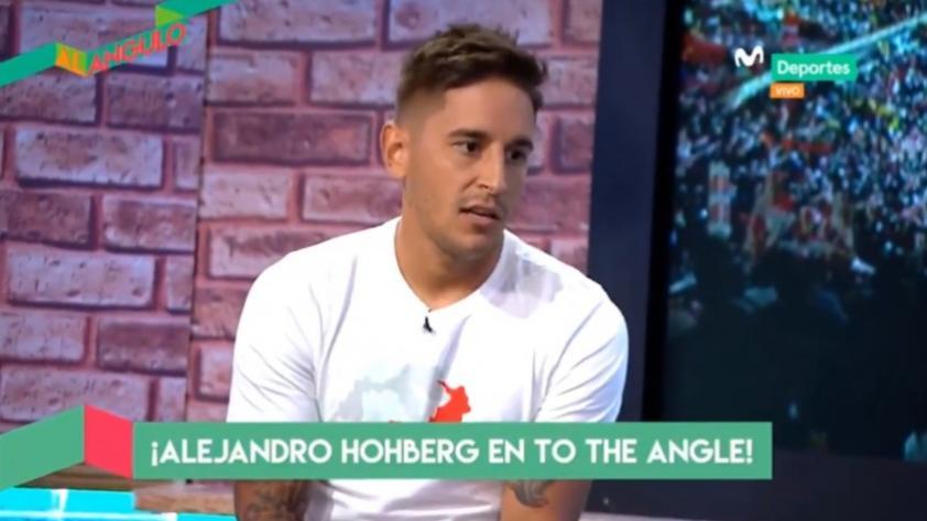 """Alejandro Hohberg en Al Ángulo: """"De meterle gol a Alianza Lima, lo celebraría"""" (VIDEO)"""