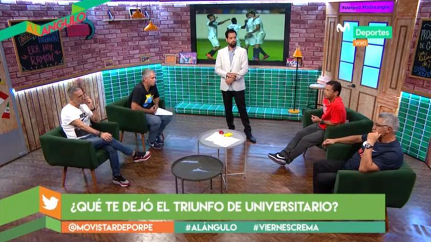 ¿Universitario de Deportes justo ganador ante Pirata FC? Así debatieron los panelistas de Al Ángulo