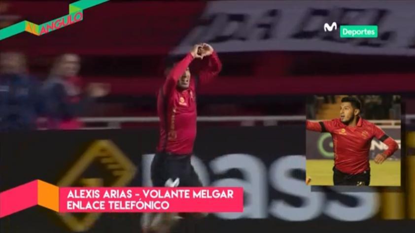 Al Ángulo: Alexis Arias se expresó en el programa