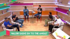 Al Ángulo: Waldir Sáenz nos cuenta sus experiencias como futbolista