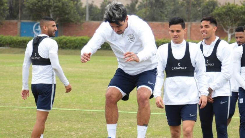 Alianza Lima: así fue el primer entrenamiento de Patricio Rubio con el cuadro blanquiazul (FOTOS)