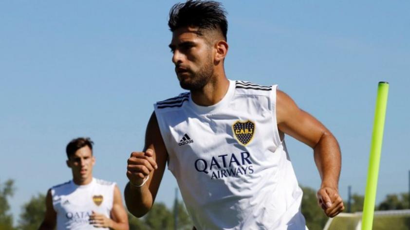 Carlos Zambrano retornó a las prácticas con Boca Juniors
