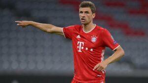 """Thomas Müller: """"Afrontaremos el partido contra Barcelona con una mezcla de autoconfianza y humildad"""""""
