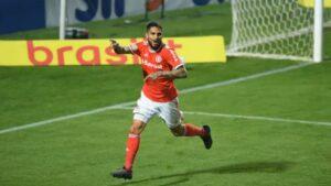 Paolo Guerrero le dio el triunfo al Inter de Porto Alegre por 1-0 ante Coritiba por el Brasileirao (VIDEO)