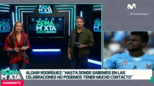 """Aldair Rodríguez en Zona Mixta: """"Uno tiene que ganarse la convocatoria a la Selección Peruana con trabajo duro y constante"""" (VIDEO)"""