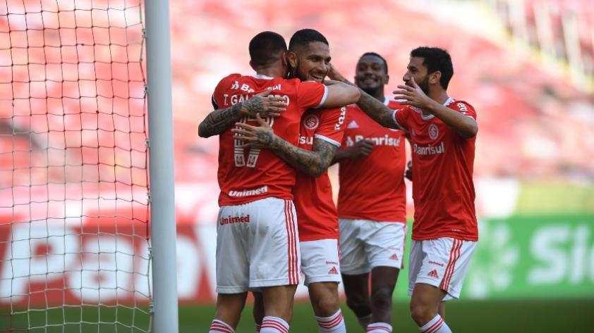¡Con gol de Paolo Guerrero! Inter de Porto Alegre goleó 4-0 a Esportivo por el Torneo Gaúcho