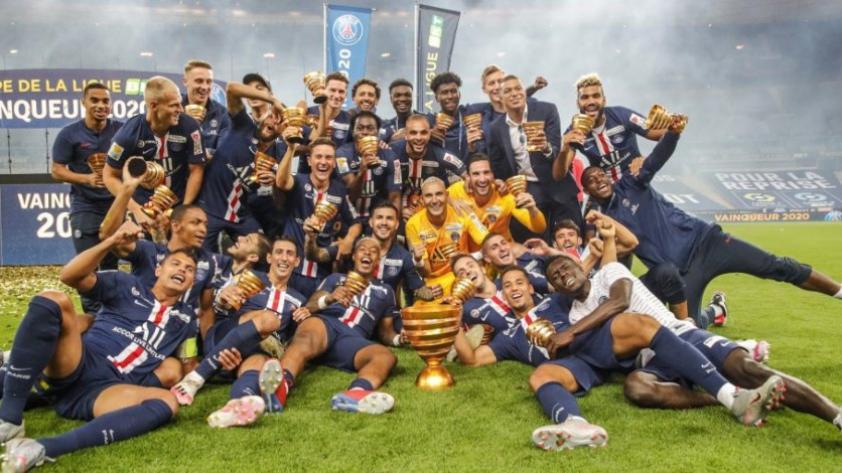 De las manos de Navas: PSG ganó por penales al Lyon y es campeón de la Copa de la Liga