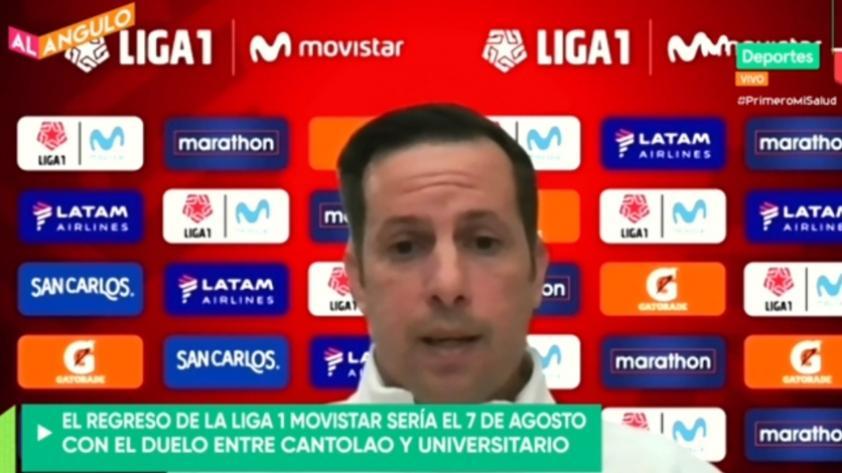 """Víctor Villavicencio: """"Tenemos un reto muy importante en sacar adelante la competición"""" (VIDEO)"""