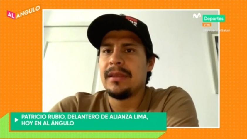 """Patricio Rubio en Al Ángulo: """"Alianza es uno de los equipos más grande del Perú, estoy muy ilusionado de tener un lindo paso por allá"""" (VIDEO)"""