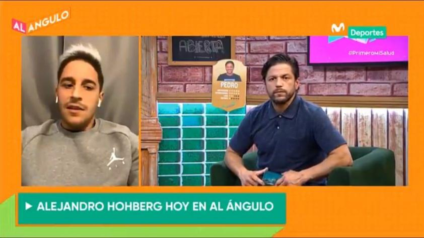 """Alejandro Hohberg en Al Ángulo: """"Ángel Comizzo nos está pidiendo un juego más agresivo"""" (VIDEO)"""