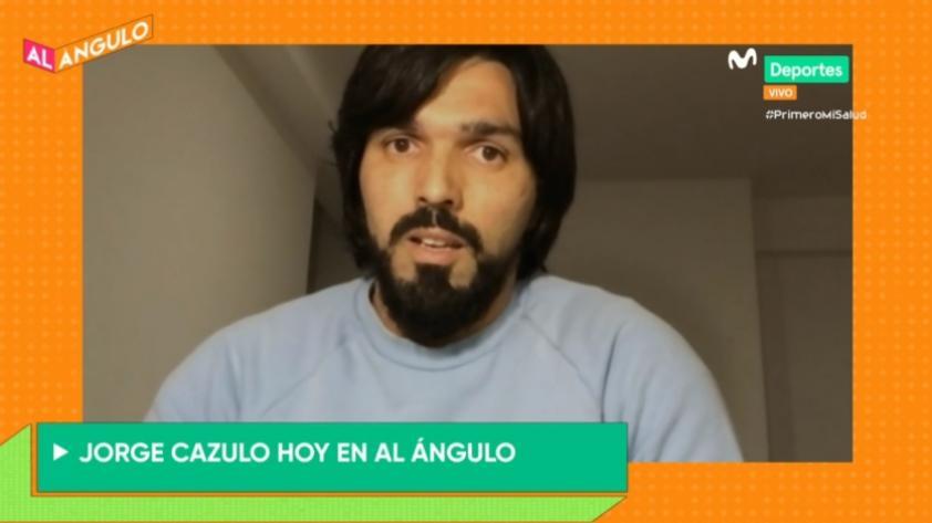 """Jorge Cazulo en Al Ángulo: """"Lo que siempre me interesó es ser el mejor jugador para Sporting Cristal, no del campeonato"""" (VIDEO)"""