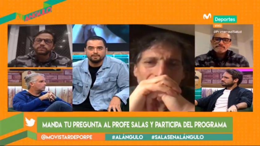 """Mario Salas en Al Ángulo: """"Tenemos que 'aterrizar' las expectativas, plasmar una idea y fortalecer el camarín"""" (VIDEO)"""