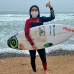 Daniella Rosas volvió a entrenar después de 85 días de aislamiento