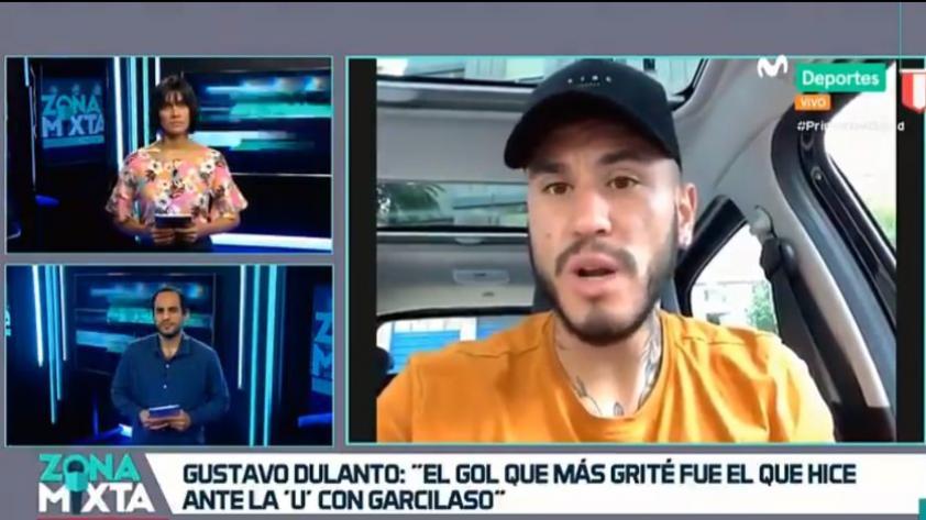 """Gustavo Dulanto en Zona Mixta: """"Tengo un año más en Boavista. Siempre quise estar acá y no puedo desaprovecharlo"""" (VIDEO)"""