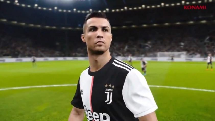 Bomba en los videojuegos: PES2020 se lleva a Juventus con Cristiano Ronaldo de FIFA (VIDEO)