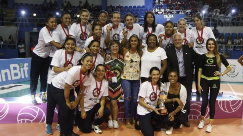 ¡Las mejores de la LNSV! Así fue la ceremonia de premiación luego de la final del torneo (FOTOS)