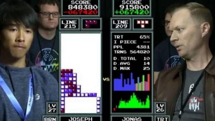 El brutal relato en la final del Mundial de Tetris que es viral en todo el mundo (VIDEO)