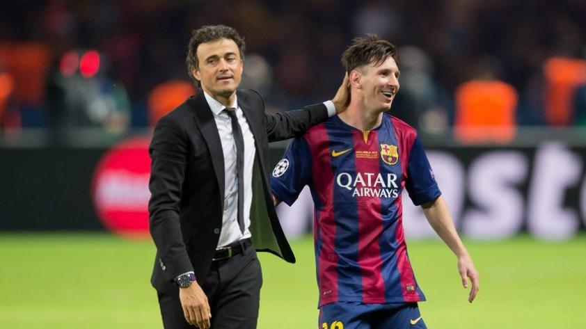 """Luis Enrique sobre el caso de Messi: """"Los clubes están por encima de las personas"""""""