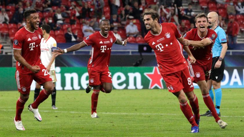 Bayern FC derrotó 2-1 al Sevilla y se consagró campeón de la Supercopa de Europa