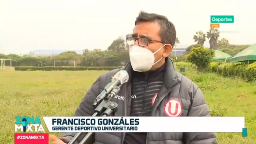 Francisco Gonzáles, gerente deportivo de Universitario, habló en Zona Mixta sobre el estado actual de Campomar (VIDEO)