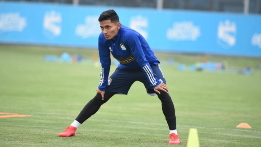 """Kevin Sandoval: """"Si me toca entrar en el partido ante Alianza Lima lo haré de la mejor manera para ayudar a mi equipo"""""""