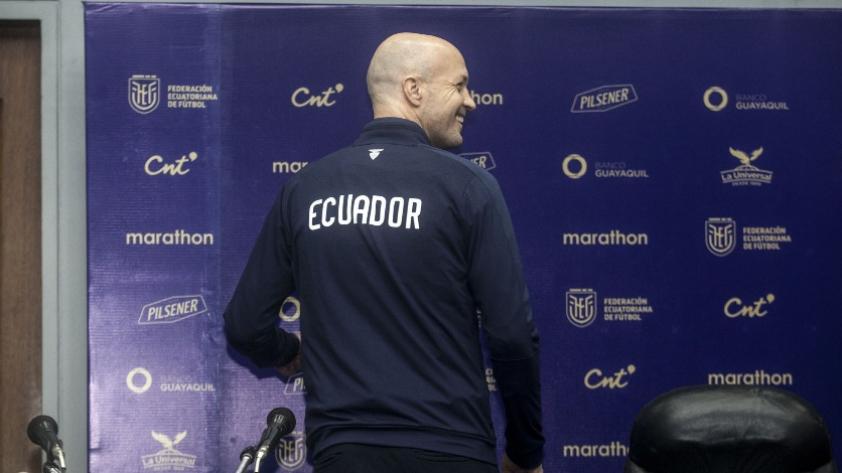 Selección de Ecuador: Jordi Cruyf confirmó su salida como DT del combinado ecuatoriano