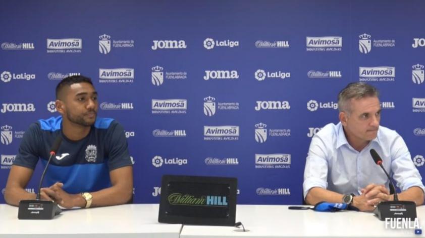 Aldair Fuentes fue presentado como jugador del Fuenlabrada (VIDEO)