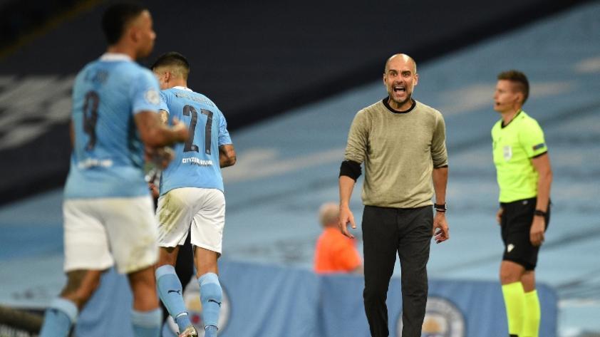 """Pep Guardiola: """"Me gustaría quedarme mucho más tiempo en Manchester City"""""""