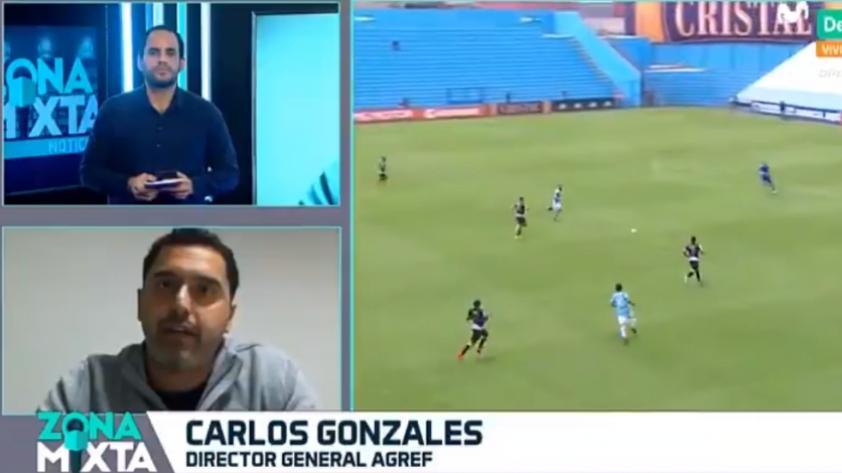 ¿Conflicto de intereses? Carlos Gonzáles de AGREF responde a las dudas sobre situación de Sporting Cristal (VIDEO)