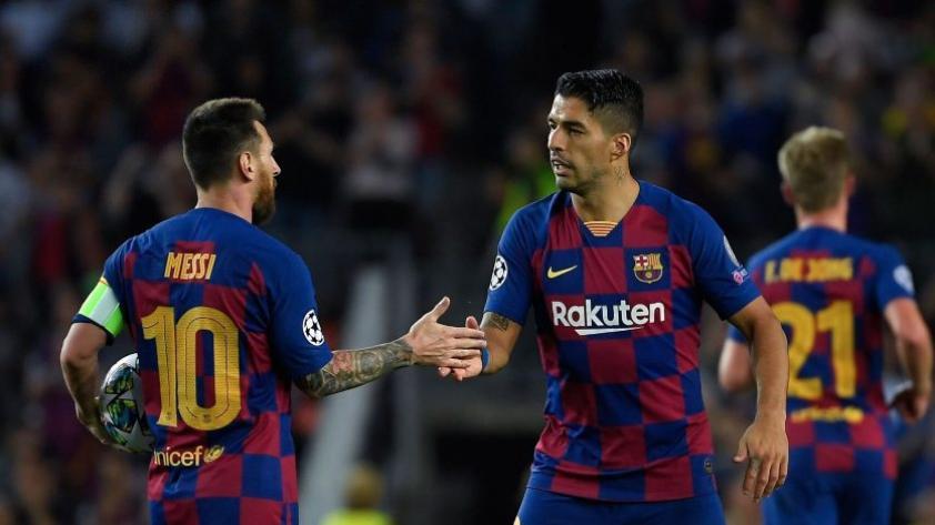 """""""No merecías que te echen así"""", la emotiva despedida de Lionel Messi a Luis Suárez"""