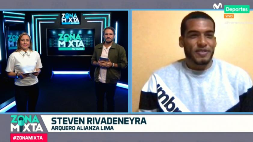 "Steven Rivadeneyra en Zona Mixta: ""Estamos entendiendo la idea de Mario Salas"" (VIDEO)"