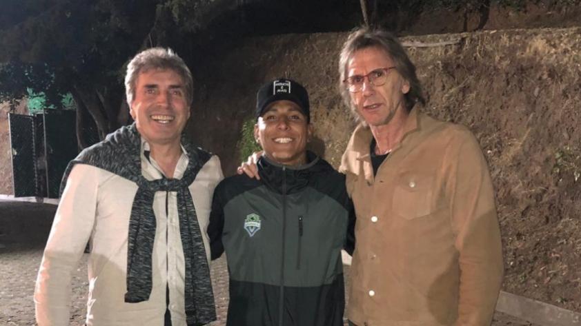 Selección Peruana: Ricardo Gareca se reunió con Raúl Ruidíaz previo a las Clasificatorias rumbo a Qatar 2022