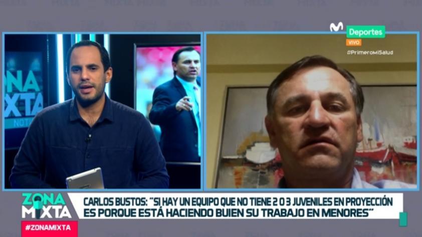 """Carlos Bustos: """"Me gustaría seguir el torneo con la localía de Arequipa, pero tenemos que adaptarnos"""""""