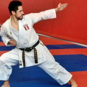 Carlos Lam, medallista de Lima 2019 en la modalidad de kata por equipos, destaca el reinicio de los entrenamientos