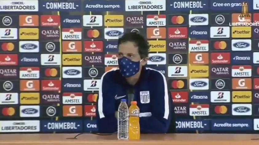 """Mario Salas tras la derrota de Alianza Lima: """"El resultado nos deja un sabor bastante amargo pero lo bueno es que los jugadores se esforzaron"""""""