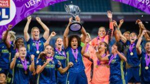 Nadie las detiene: Lyon logró salir campeón de la Champions femenina por quinta vez consecutiva Lyon se quedó con la victoria por 3-1 sobre Wolfsburgo en la final de la Champions League femenina
