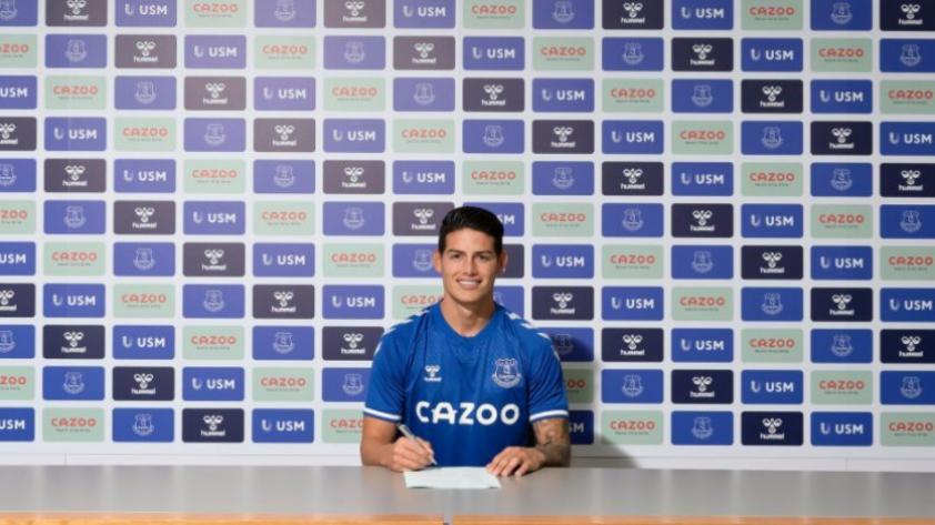 CONFIRMADO: James Rodríguez es nuevo jugador del Everton El jugador colombiano es el nuevo refuerzo del equipo inglés