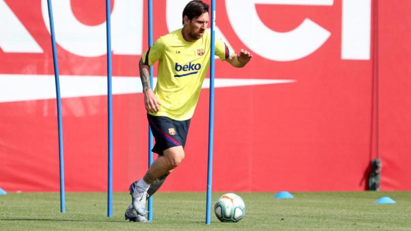 Lionel Messi no se presentó a los test en Barcelona