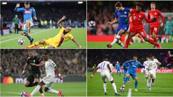 Champions League: las cuotas que se manejan para los partidos de octavos de final