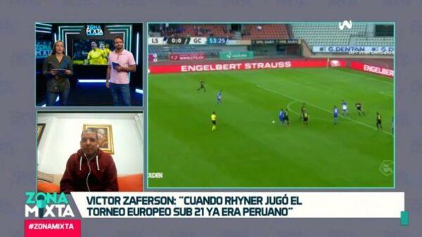 """Víctor Zaferson en Zona Mixta: """"Si Gareca no lo llama en dos o 3 años y Rhyner se quiere arrepentir de su decisión, no podrá"""" (VIDEO)"""