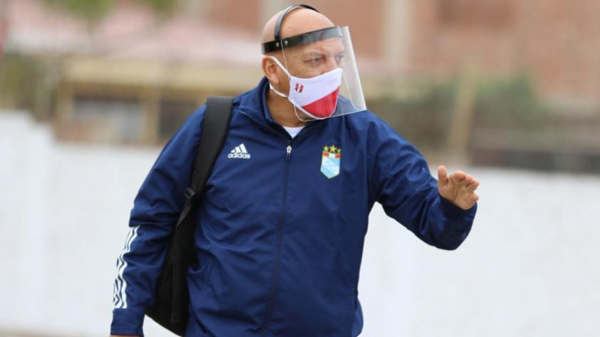 """Roberto Mosquera: """"Demostramos que tenemos carácter y personalidad para defender el resultado"""""""
