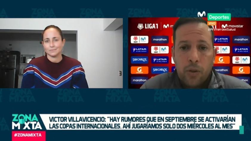 Zona Mixta: Víctor Villavicencio dio detalles de lo que será el regreso de la Liga 1 Movistar