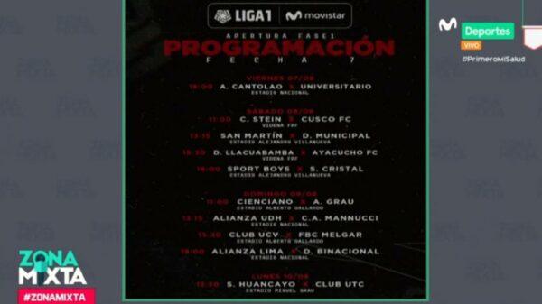 Zona Mixta: esta es la programación oficial con el retorno de la Liga 1 Movistar (VIDEO)